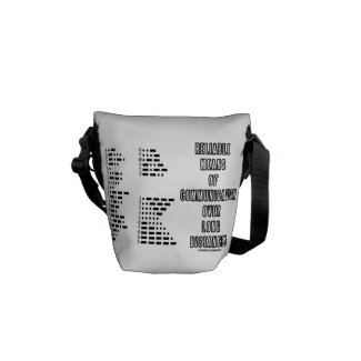 Reliable Means Of Communication Over Long Distance Messenger Bag