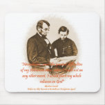 Reliance on God Mouse Pad