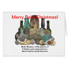 Relic Christmas Card at Zazzle