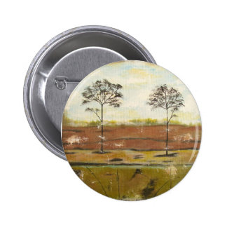 Relic Contemporary Modern Abstract Painting 2 Inch Round Button