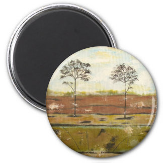 Relic Contemporary Modern Abstract Painting 2 Inch Round Magnet