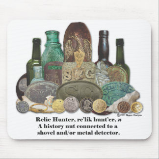 Relic Hunter Definition Mouse Pad