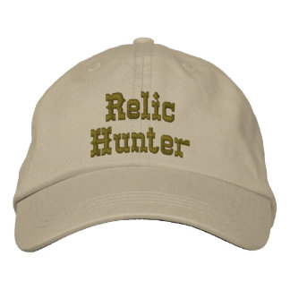 Relic Hunter Hat Embroidered Hat