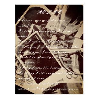 Relic Poem Postcard
