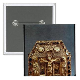 Relicario del rey de Pepin I de Aquitania Pin Cuadrado