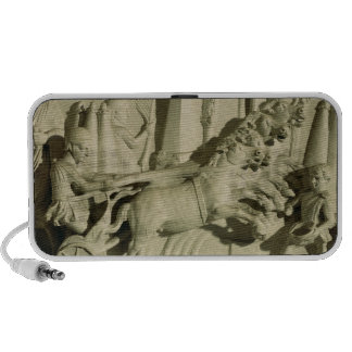Relief depicting a chariot race mp3 speakers