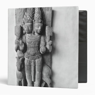 Relief depicting a double-headed image of Agni Binders
