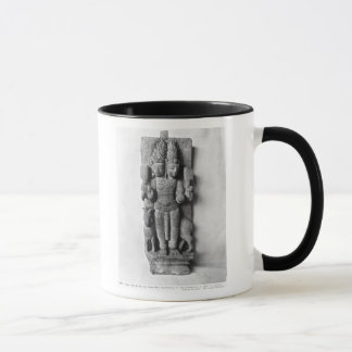 Relief depicting a double-headed image of Agni Mug