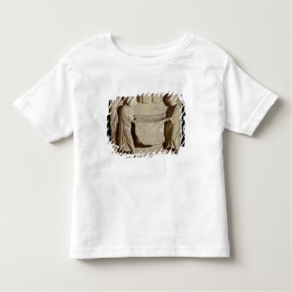 Relief depicting a draper in his shop toddler t-shirt