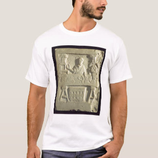 Relief depicting a flower and vegetable seller T-Shirt