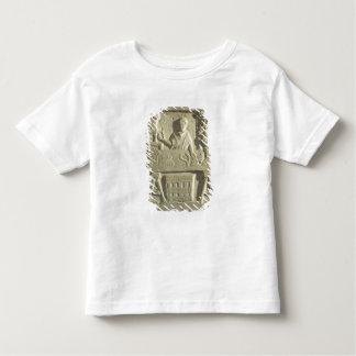 Relief depicting a flower and vegetable seller toddler t-shirt