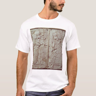 Relief depicting a guard holding T-Shirt