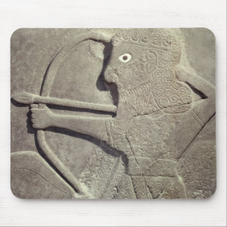 Relief depicting a hunter, from Tell-Halaf, Mouse Pad