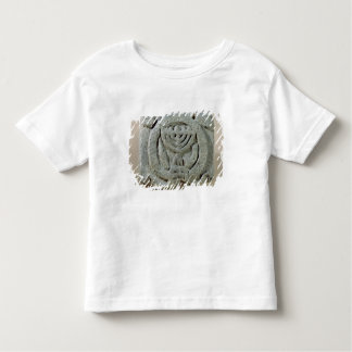 Relief depicting a menorah toddler t-shirt