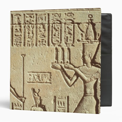 Relief depicting a pharaoh binders