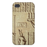 Relief depicting a pharaoh iPhone 4/4S case