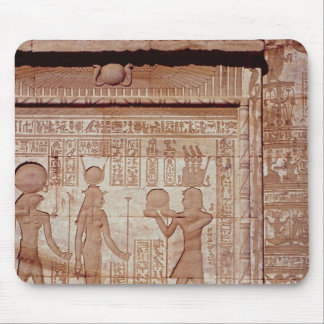 Relief depicting a pharaoh mouse pad