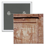 Relief depicting a pharaoh pin