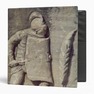 Relief depicting a Roman soldier Binder