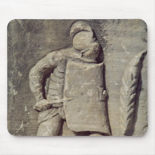 Relief depicting a Roman soldier Mouse Pad
