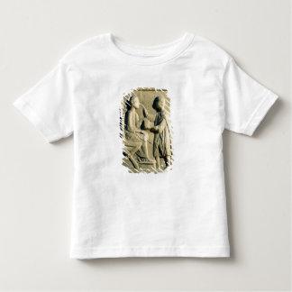 Relief depicting an oculist examining a patient toddler t-shirt