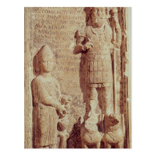 Relief depicting Aphlad, god of village of Postcard