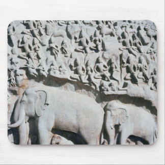 Relief depicting Arjuna s penance Mouse Pads
