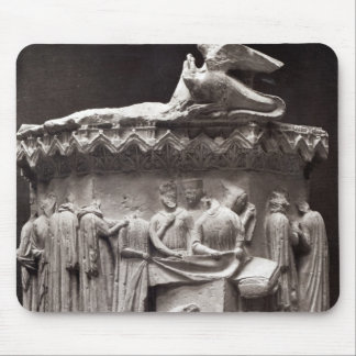 Relief depicting drapers mouse pad