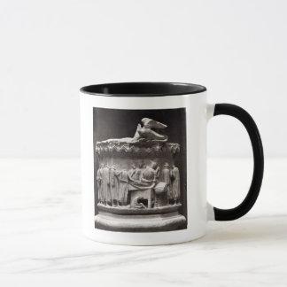 Relief depicting drapers mug