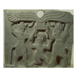 Relief depicting Gilgamesh between two Print