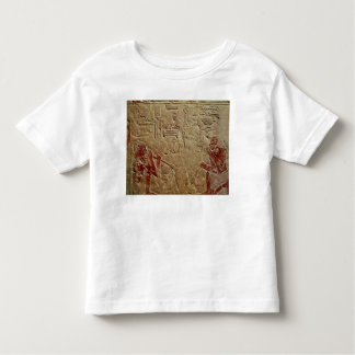 Relief depicting glass blowers t shirt