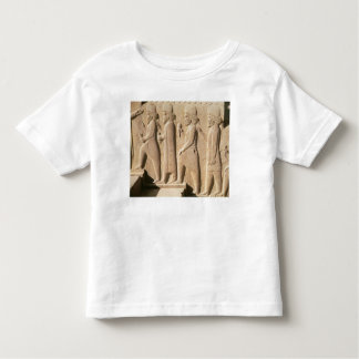 Relief depicting Median guards from stairs Toddler T-shirt