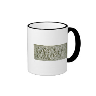 Relief depicting nereids carried away by tritons coffee mugs