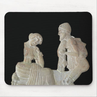 Relief depicting Odysseus and Penelope Mouse Pad