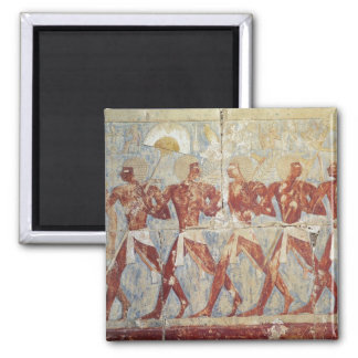 Relief depicting parade in honour of Hathor Magnet