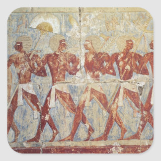 Relief depicting parade in honour of Hathor Sticker