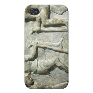 Relief depicting pavers iPhone 4 cover