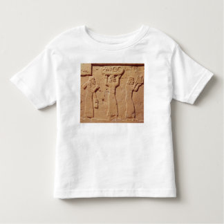 Relief depicting porters laden with gifts toddler t-shirt