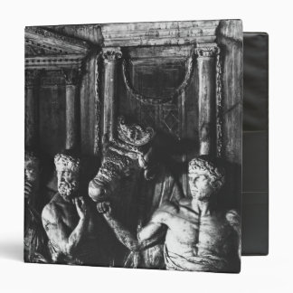 Relief depicting preparations for a sacrifice 3 ring binders