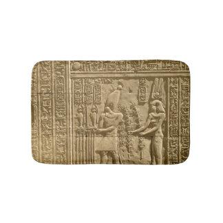 Relief depicting Ptolemy VIII Euergetes II Bath Mats