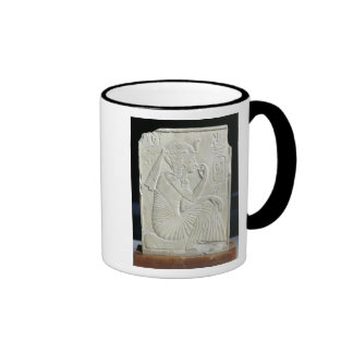 Relief depicting Ramesses II  as a child Ringer Coffee Mug