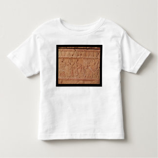 Relief depicting servant paying homage to the toddler t-shirt