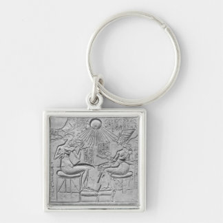 Relief depicting the Aten giving life Keychain