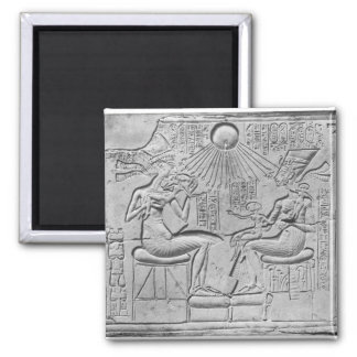 Relief depicting the Aten giving life Magnets