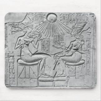 Relief depicting the Aten giving life Mouse Pad