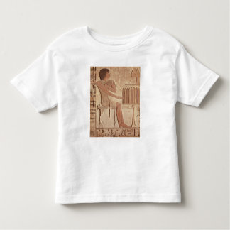 Relief depicting the deceased seated toddler t-shirt