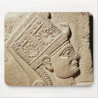 Relief depicting the head of a young prince mouse pad