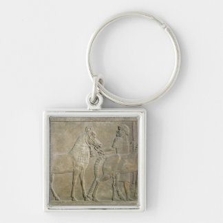 Relief depicting the tributaries of Sargon II Keychain