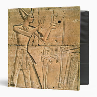 Relief depicting Tuthmosis III  making an Binder