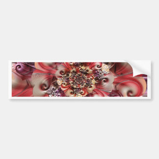 Relief Flower designed by Tutti Bumper Sticker